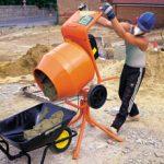 Using a Cement Mixer