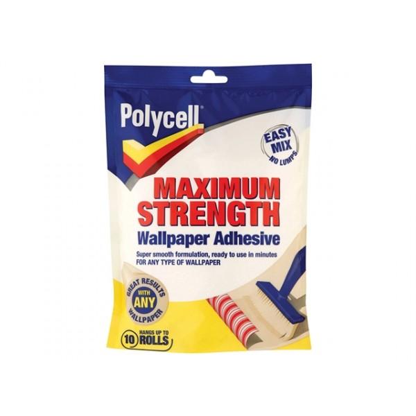 polycell maximum strength wallpaper paste range diy